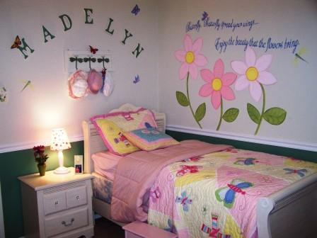 Butterfly Bedroom 3 A To Z Decorating